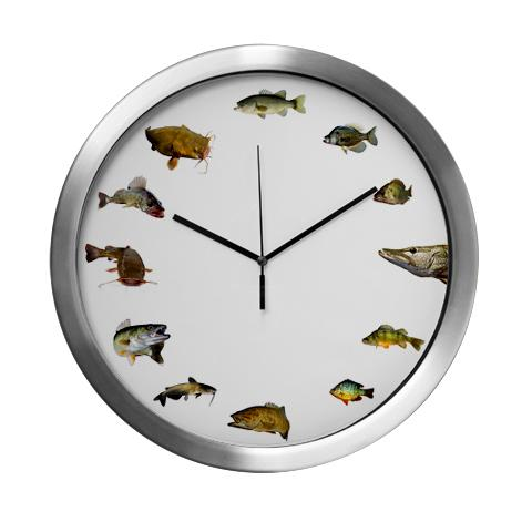 fish_clock_modern_wall_clock