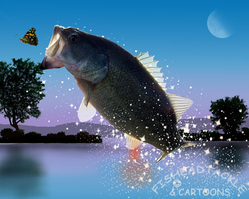 largemouth bass hd wallpaper for desktop images pictures