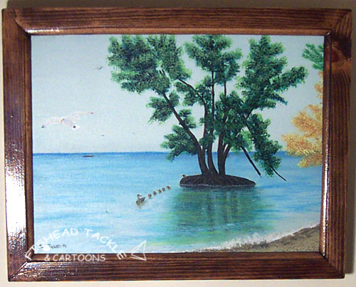 Lake Erie Tree painting