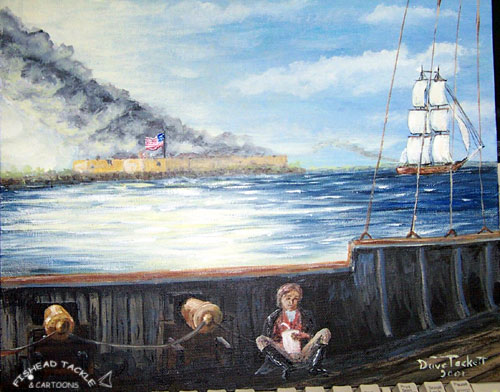 fort mchenry painting