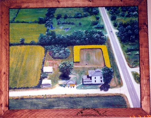 Sunflower Farm painting