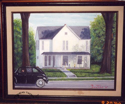 The Bower House painting