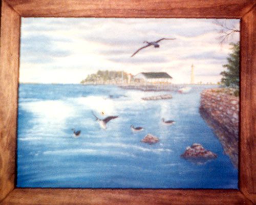 Lake Erie painting